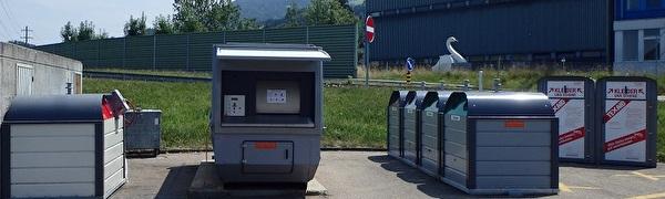 Sammelstelle Parkplatz A3, Roos