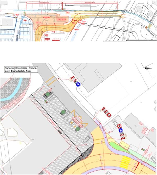 Pläne Sanierung Roosstrasse