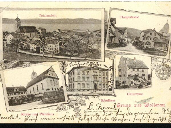 Postkarte von damals