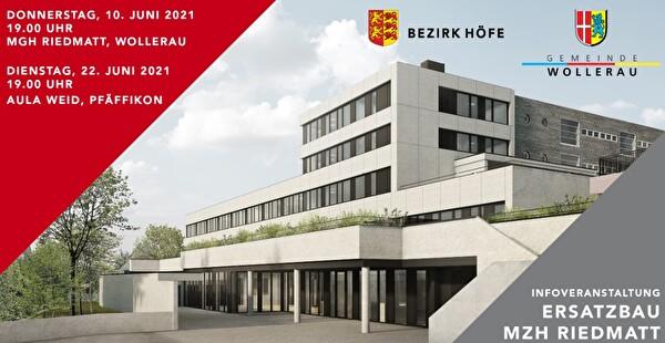 Am Donnerstag, 10. Juni, und am Dienstag, 22. Juni, finden in Wollerau und Pfäffikon Informationsveranstaltungen zum Projekt Ersatzbau MZH Riedmatt statt.