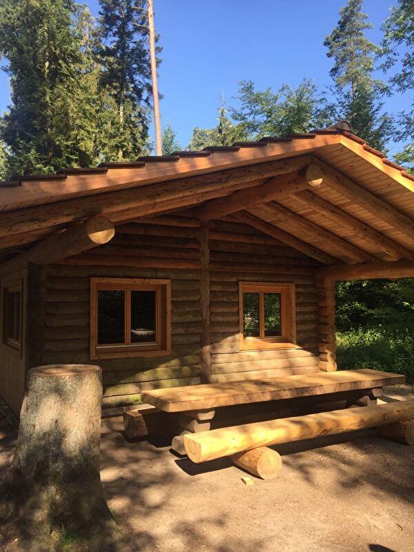 Waldhütte Hardwald