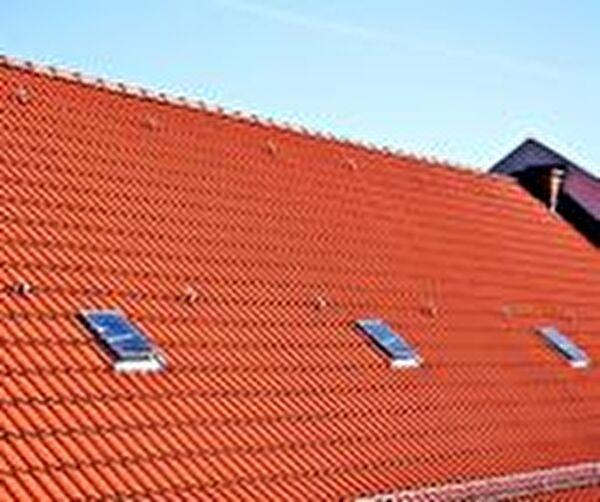 Bild eines Hausdaches
