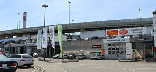 Gewerbehallen Aubrugg Wallisellen.