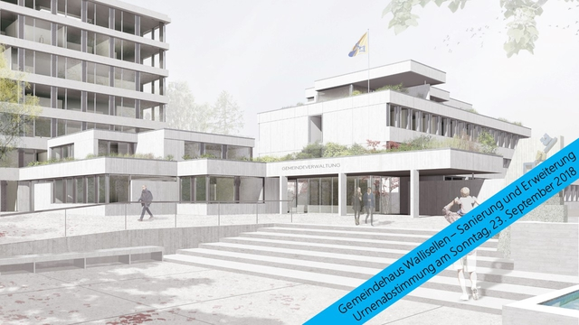 Sanierung und Erweiterung Gemeindehaus
