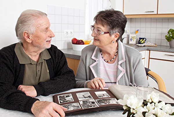 Bild älteres Ehepaar