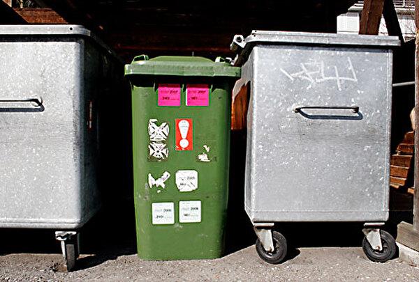 Bild Abfallcontainer