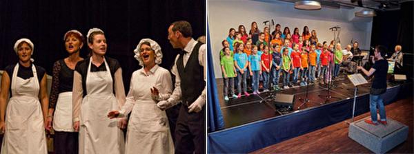 Wallisellen on stage - Theateraufführung, Kinder- und Jugendchor