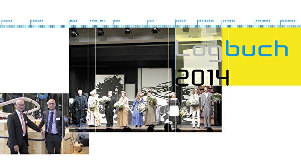 Titelbild des Logbuch 2014