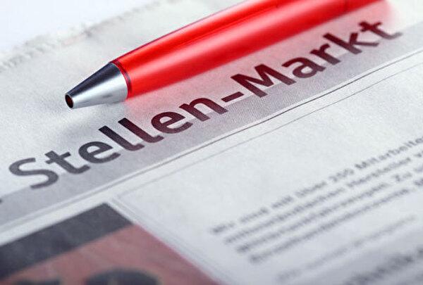 Bild Zeitung mit Überschrift Stellenmarkt