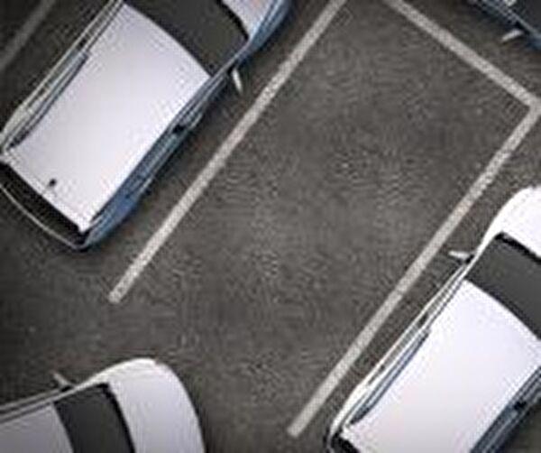 Bild von parkierenden Autos