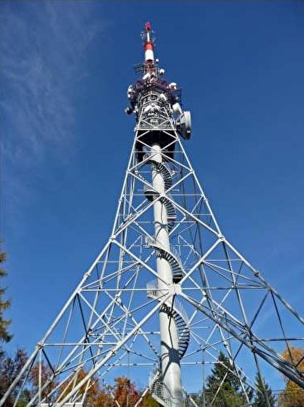 Antennenturm auf dem Kohlfirst