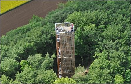Cheisacherturm aus der Luft
