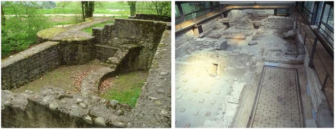 Bilder des Römischen Gutshofes Seeb