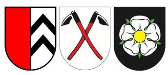 Wappen Winkel, Rüti und Seeb