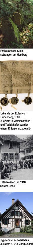 Geschichte Mettmenstetten