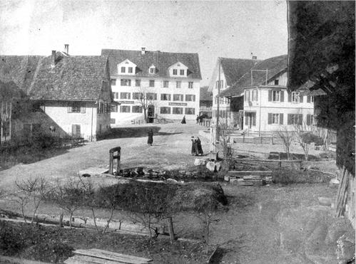 Dorfzentrum 1885-1890