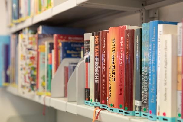 Bild Bücherwand