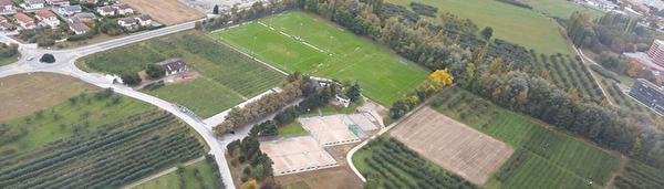 Centre sportif des Glareys et terrain des Peupliers à Bramois