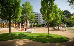 Jardin public ecole enfantine de la Blancherie