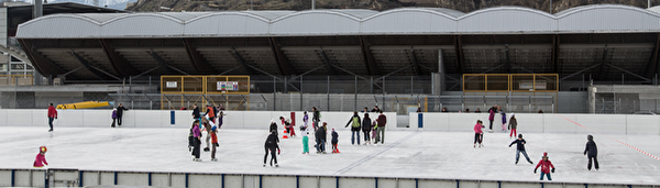 Patinoire de plein air de Tourbillon
