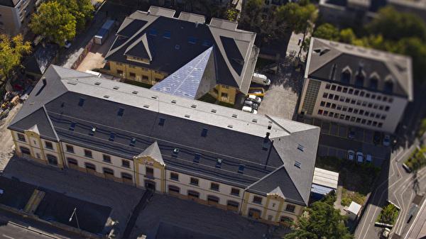 Médiathèque Sion drone