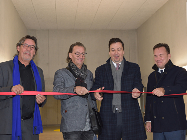 Inauguration le 12 novembre 2019 du parking des Roches-Brunes