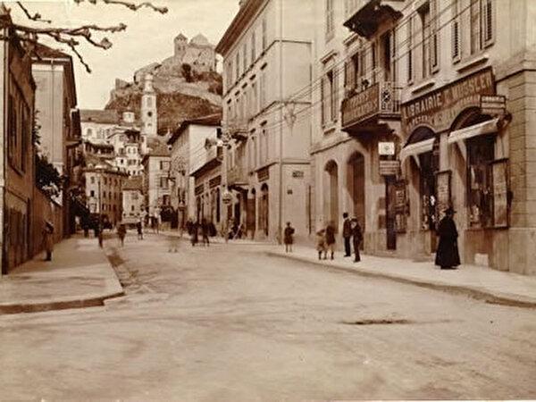 La ville de Sion autrefois