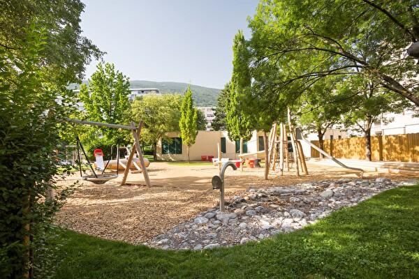 Jardin public à la Blancherie