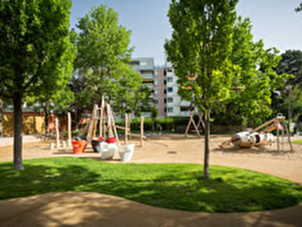 Jardin public de la Blancherie