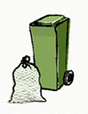 Grünabfuhr-Sammlung