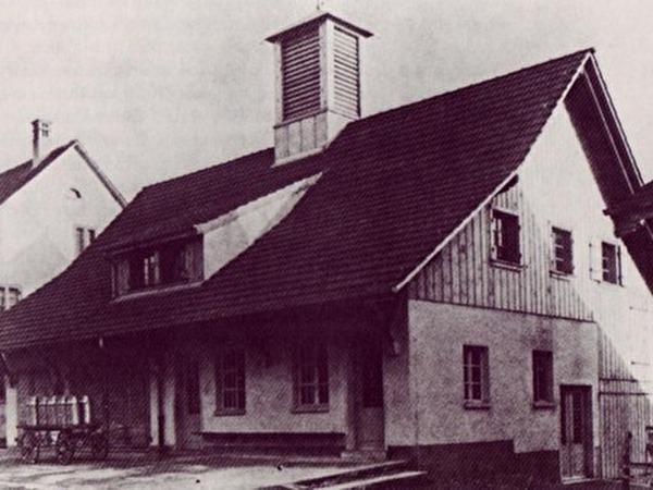 Gemeindehaus Im Jahr 1926
