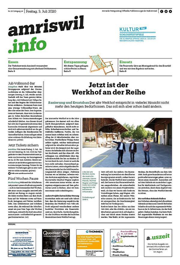 amriswil.info vom 03.07.2020