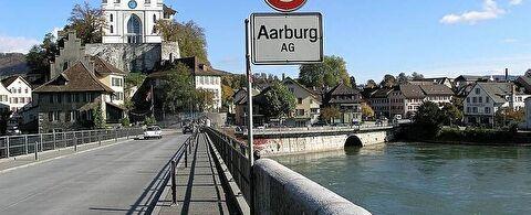Ortsschild Aarburg