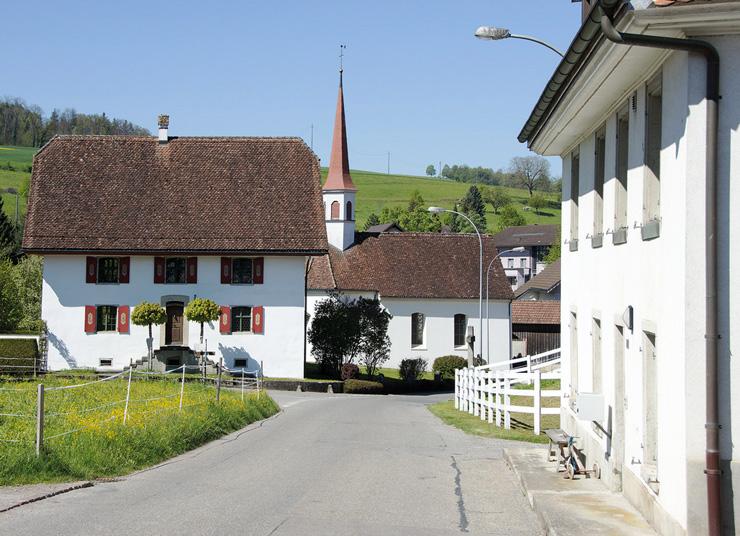 Dorf Uezwil