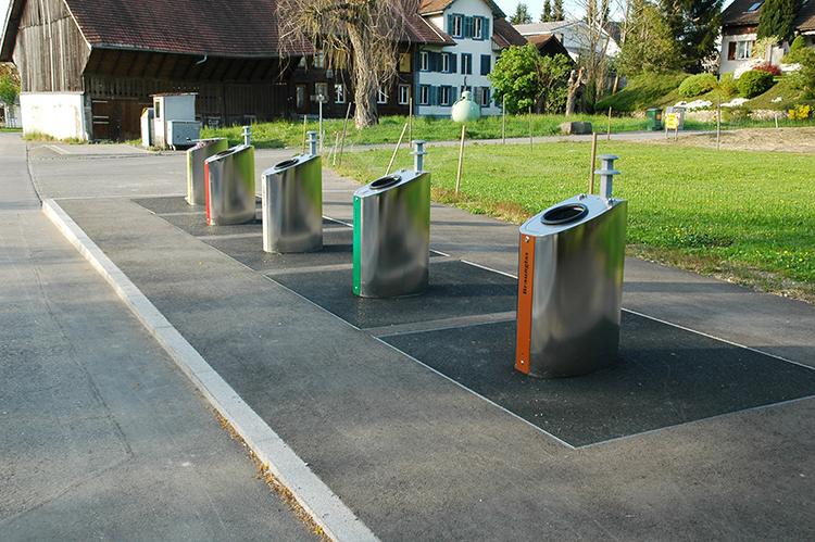 Unterflur-Entsorgungsstelle Uezwil