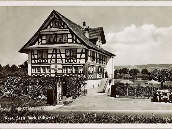 Altes Bild von Restaurant