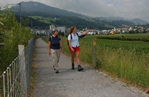 Wanderer, Jakobsweg, Wanderweg
