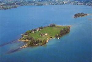 Inseln, Ufnau, Lützelau