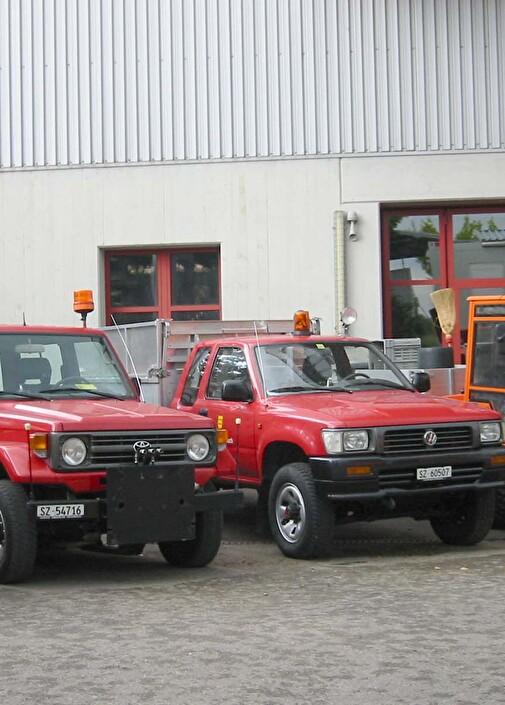 Fahrzeuge Werkhof