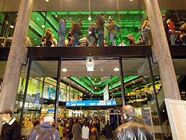 Eröffnung Bahnhof Zug