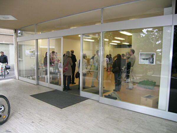 Ausstellungsraum Haus Zentrum von aussen