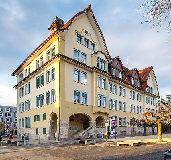 Bild der Musikschule an der Bundesstrasse 2