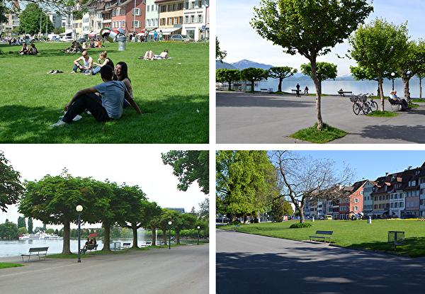 Bild Vorstadtquai und Rössliwiese