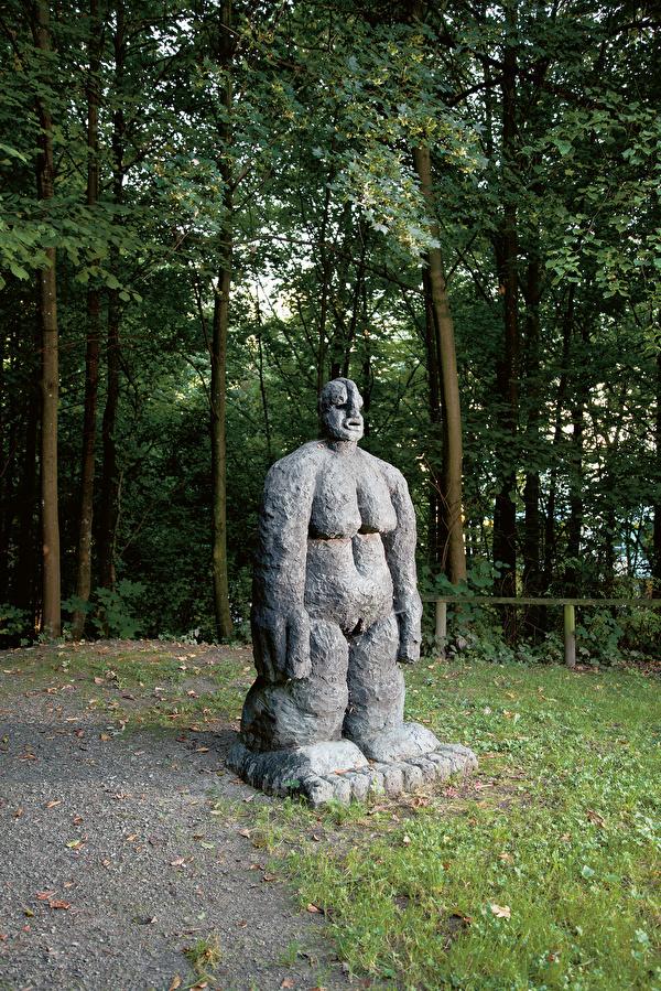 Rudolf Blättler: Grosses Weib