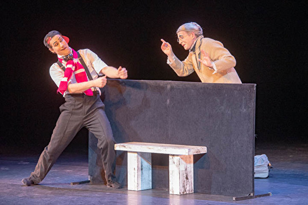 Geniale Pantomimen: von Bodecker und Neander im Theater-Casino