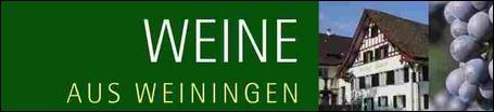 Weine aus Weiningen