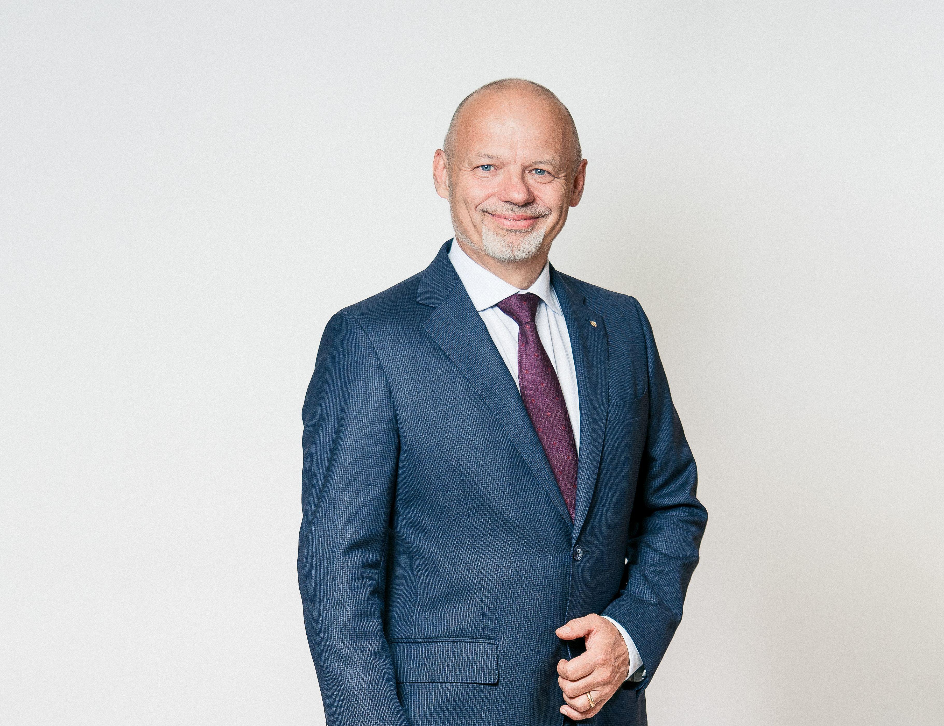 Gemeindepräsident Mario Okle