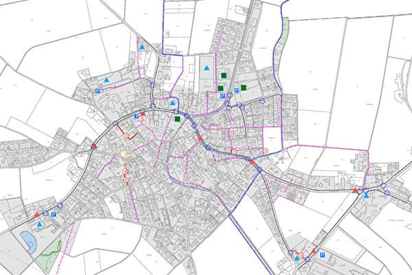 Fusswegnetzplan