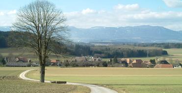 Dorf Höchstetten