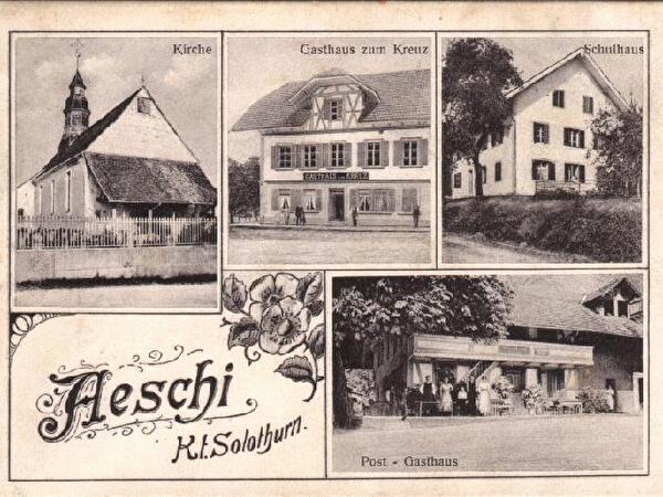 Postkarte Aeschi Kt. Solothurn